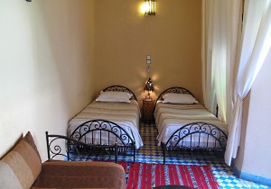 Riad Dar Tamlil, Twin room